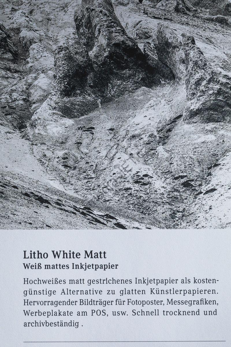 mediaJET Litho White Matt